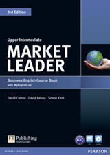 Market Leader. Upper Intermediate Coursebook (with DVD-ROM incl. Class Audio) & MyLab | auteur onbekend |