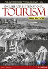 English for International Tourism Pre-Intermediate New Edition Workbook with Key and Audio CD Pack | Dubicka |
