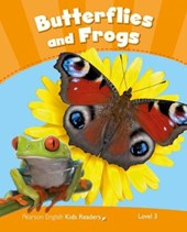 Penguin Kids 3 Butterflies and Frogs Reader CLIL AmE