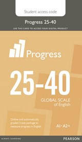 Progress 25-40 Stu Printed Access Card | Pearson |