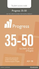 Progress 35-50 Stu Printed Access Card | Pearson |