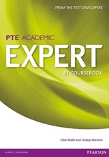 Expert Pearson Test of English Academic B1 Standalone Coursebook | Clare Walsh; Lindsay Warwick |