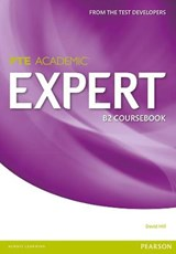 Expert Pearson Test of English Academic B2 Standalone Coursebook | David Hill |
