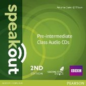 Speakout Pre-Intermediate 2nd Edition Class CDs (3)