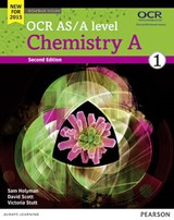 OCR AS/A level Chemistry A Student Book 1 + ActiveBook | Victoria Stutt |