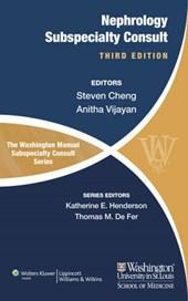Washington Manual os Nephrology Subspecialty Consult