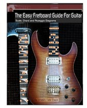 Easy Fretboard Guide for Guitar