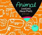 Animal Doodles Place Mats