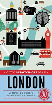 City Scratch-Off Map | Christina Henry De Tessan |