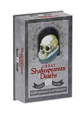 Great shakespearean deaths card game | Chris Riddell |