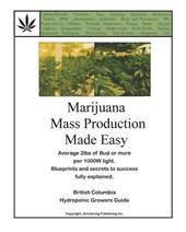 Marijuana Mass Production Made Easy