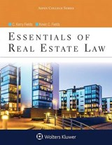Essentials of Real Estate Law | Fields, C. Kerry ; Fields, Kevin C. |