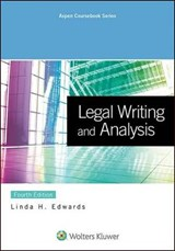 Legal Writing and Analysis | Linda H. Edwards |