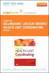 Lafleur Brooks' Health Unit Coordinating Pageburst on Vitalsource Access Card