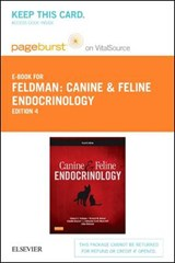 Canine & Feline Endocrinology Pageburst on VitalSource Access Code | Edward C Feldman; Richard W Nelson |