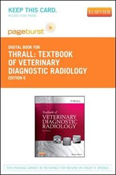 Textbook of Veterinary Diagnostic Radiology - Pageburst E-Book on Vitalsource (Retail Access Card)