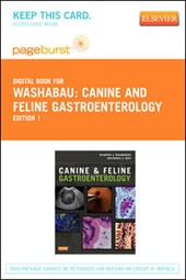 Canine and Feline Gastroenterology - Pageburst E-Book on Vitalsource (Retail Access Card)