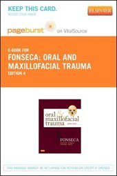 Oral and Maxillofacial Trauma Pageburst on VitalSource Acccess Code