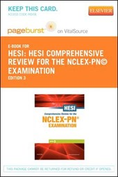 Hesi Comprehensive Review for the NCLEX-PN? Examination - Pageburst E-Book on Vitalsource + Evolve Access (Retail Access Cards) | Hesi |