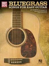 Bluegrass Songs for Easy Guitar