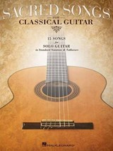 Sacred Songs for Classical Guitar | auteur onbekend |