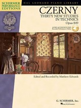 Carl Czerny - Thirty New Studies in Technics, Op. | auteur onbekend |