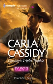 Cowboy's Triplet Trouble | Carla Cassidy |