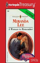 A Woman To Remember | Miranda Lee |