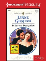 Indecent Deception | Lynne Graham |