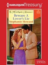 Beware a Lover's Lie