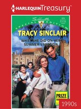 What She Did on Her Summer Vacation | Tracy Sinclair |