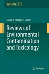Reviews of Environmental Contamination and Toxicology Volume | auteur onbekend |