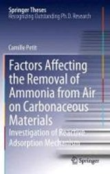 Factors Affecting the Removal of Ammonia from Air on Carbonaceous Materials | Camille Petit |