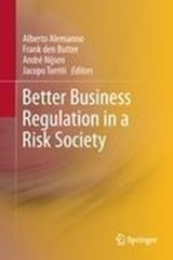 Better Business Regulation in a Risk Society | auteur onbekend |