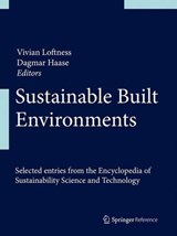 Sustainable Built Environments |  |