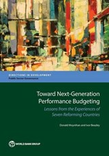 Toward Next-Generation Performance Budgeting | Moynihan, Donald ; Beazley, Ivor |