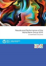 Results and Performance of the World Bank Group | auteur onbekend |