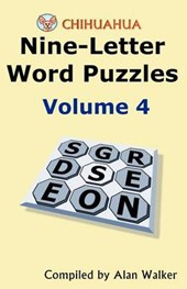 Chihuahua Nine-Letter Word Puzzles Volume