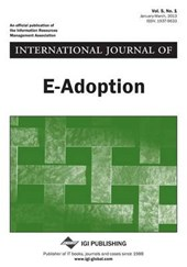 International Journal of E-Adoption, Vol 5 ISS