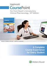 Roach's Introductory Clinical Pharmacology Lippincott Coursepoint Access Code | Ford, Susan M. ; Roach, Sally S. |