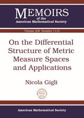 On the Differential Structure of Metric Measure Spaces and Applications