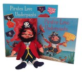 Pirates Love Underpants Book & Plush | Claire Freedman |