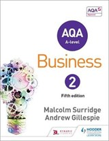 AQA Business for A Level | Malcolm Surridge; Andrew Gillespie |