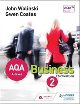 AQA A Level Business 2 Third Edition (Wolinski & Coates) | John Wolinski |