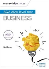 My Revision Notes: AQA AS Business Second Edition | Neil James |