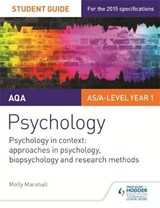 AQA Psychology: Psychology in Context: Approaches in Psychol | Molly Marshall |