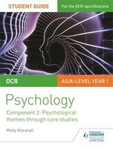 OCR Psychology Student Guide 2: Component 2: Psychological t | Molly Marshall |