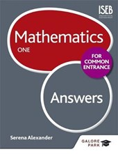 Mathematics for Common Entrance One Answers