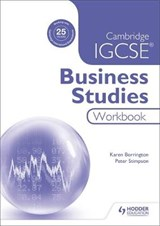 Cambridge IGCSE Business Studies Workbook | Karen Borrington |
