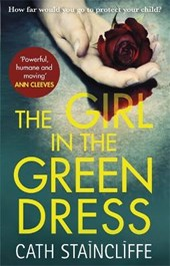 Girl in the green dress